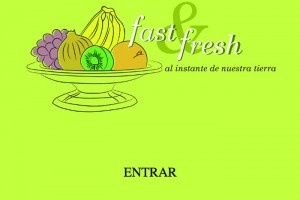 Web Fast&fresh inicio