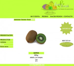 Web Fast&fresh frutas kiwi