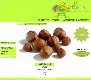 Web Fast&fresh frutos secos avellanas